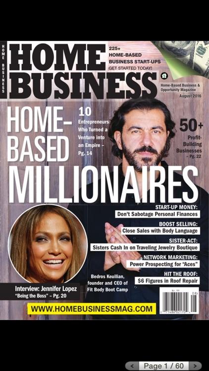 Home Business Magazine iOS
