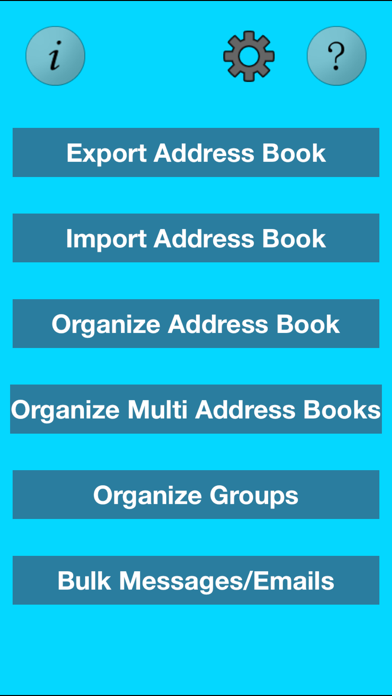 download Free Bulk SMS Multi Address Book Organizer+ apps 1