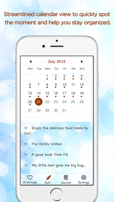Gratitude Journal - The Life-changing App Скриншоты6