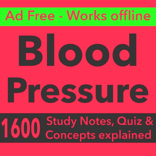 Blood Pressure Exam Review-1600 Quiz & Study Notes