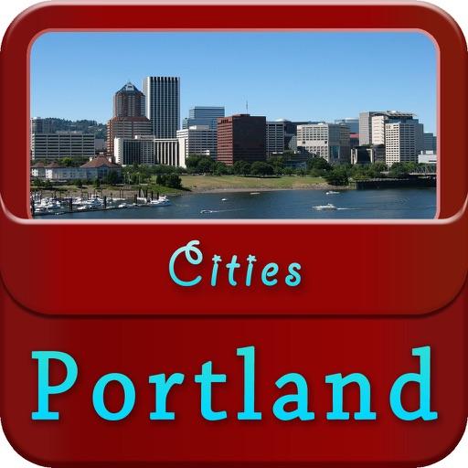 Portland Offline Map Travel Guide