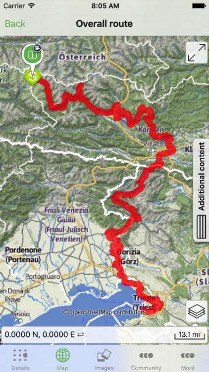 Alpe Adria Trail screenshot-3
