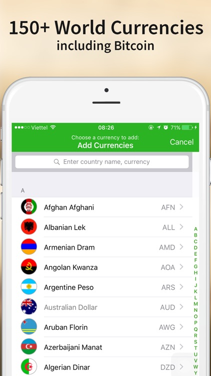 Currency Converter - Currency exchange unit for your travel screenshot-3