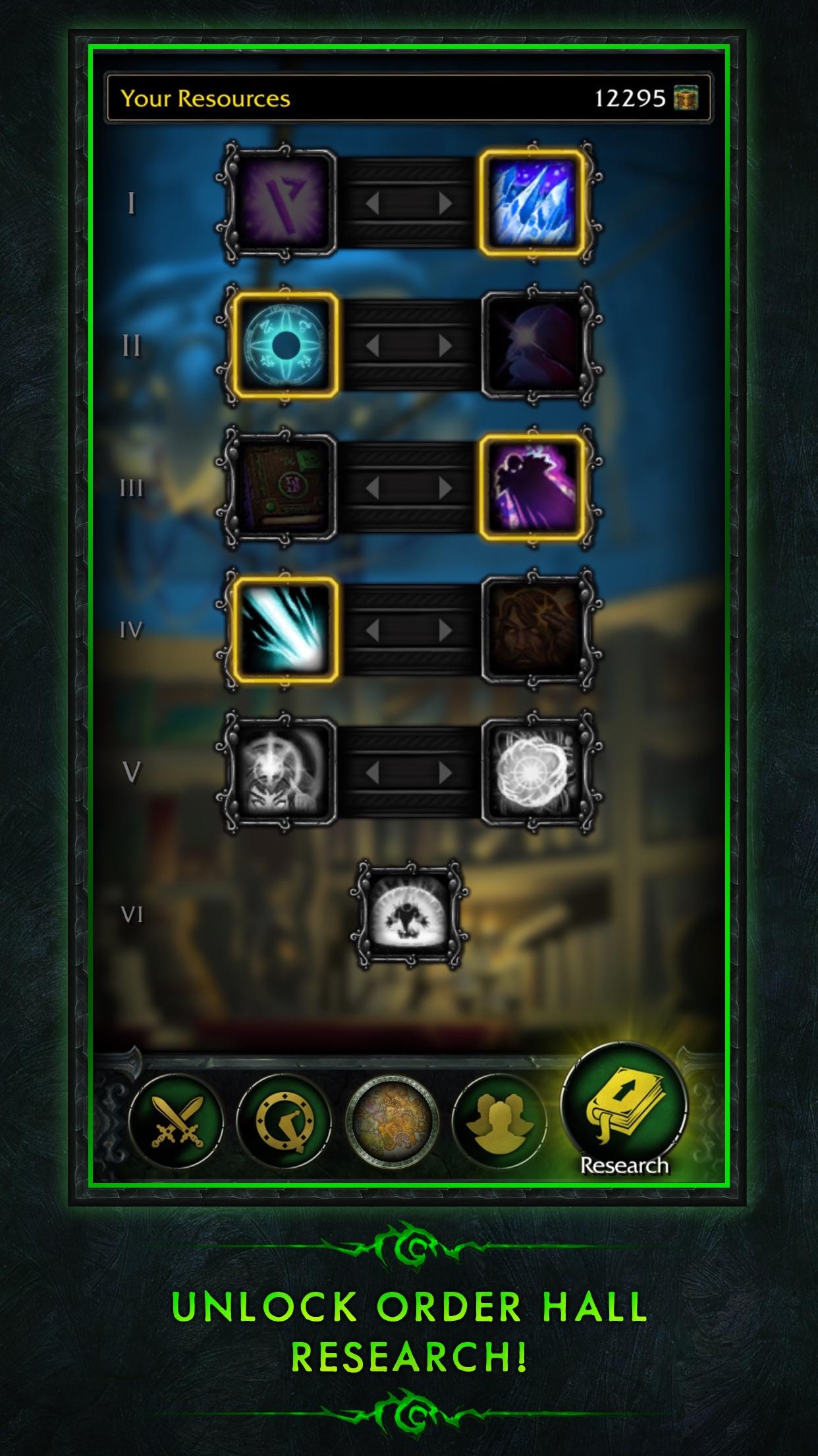 WoW Legion Companion Screenshot