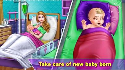Pragnant Mermaid Care Newborn screenshot 3