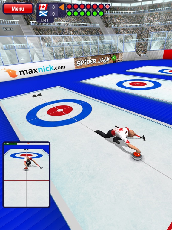 Curling3D HD для iPad