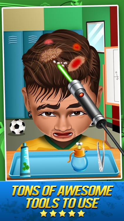Soccer Doctor Surgery Salon - Kid Games Free