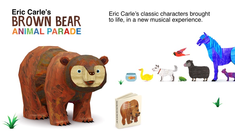 Eric Carle's Brown Bear Animal Parade screenshot-0