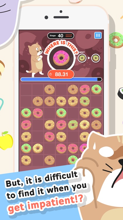 Doco Doco animal -Brain training game trains the right brain with cute animals-