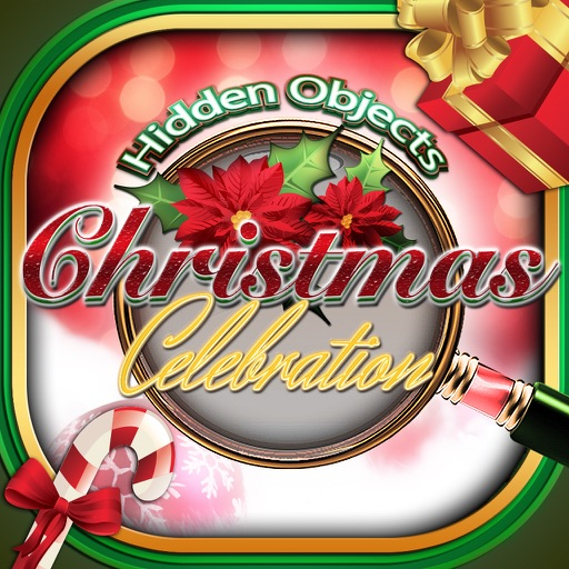 Hidden Objects Christmas Celebration Holiday Time