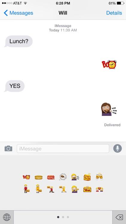 Bomoji - The Bojangles' Emoji Keyboard