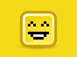 Cute Pixel Stickers