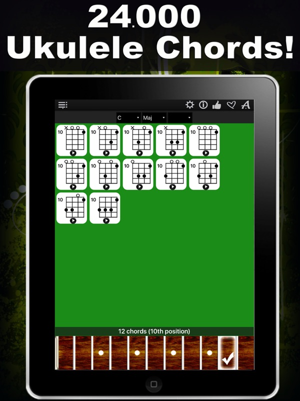 Ukulele Chords Compass Learn The Chord Charts Play Them Online