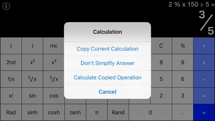 Calculator+ - Standard & Scientific Calculator screenshot-3