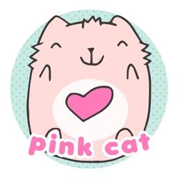 Pink Cat Pinku