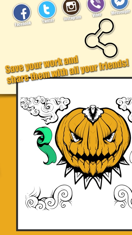 Halloween & Sugar Skull Coloring Book For Adults