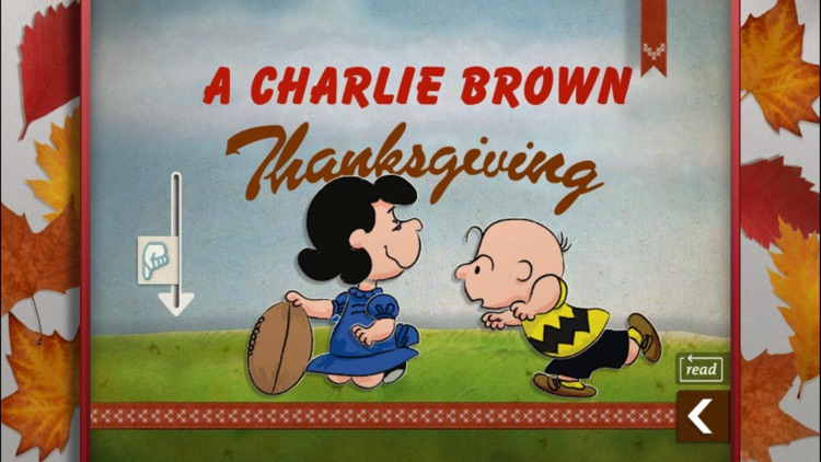 A Charlie Brown Thanksgiving - A Peanuts Interactive Classic for All Ages screenshot-1