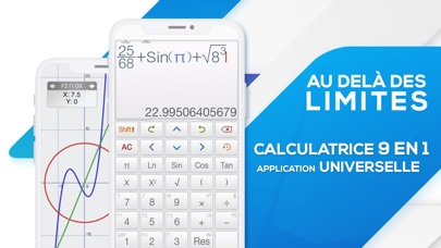 Screenshot #1 pour Calculator ∞ - Calculatrice