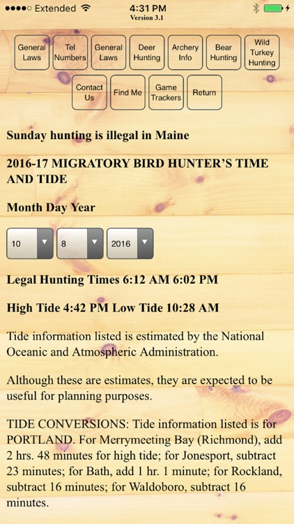 Hunt Maine