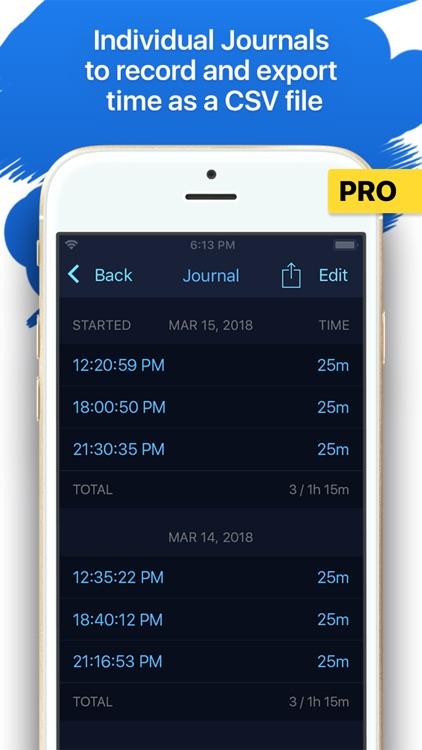 MultiTimer: Multiple timers screenshot-7