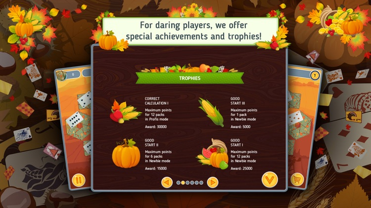 Solitaire Match 2 Cards Free. Thanksgiving Day Card Game screenshot-4