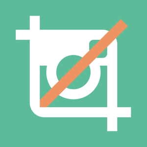 No Crop for Instagram - Post entire pics & videos and get likes,followers,views without cropping. app
