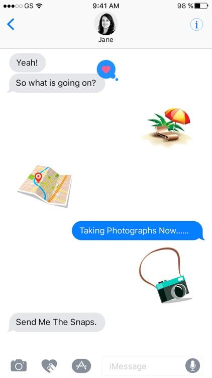 Travelmoji - Stickers For iMessage