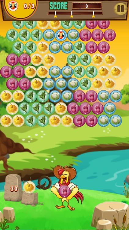 Farm and Bubble Adventure Classic bubble shoot fun screenshot-3