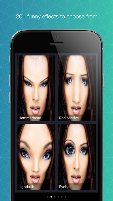 Funny Face - Mirror effects screenshot two