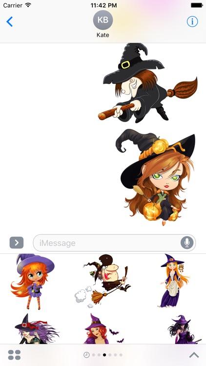 Halloween Stickers screenshot-3
