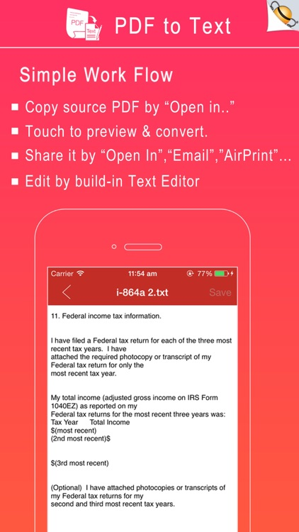 PDF to Text screenshot-1