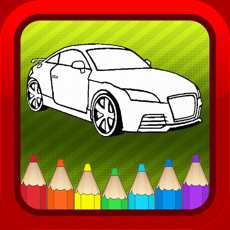 Activities of Car Vehicles Kids Coloring Books Pages Games Free