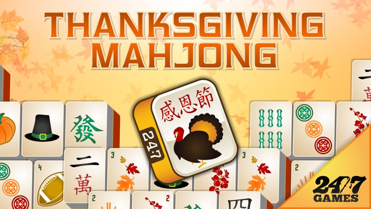 Thanksgiving Mahjong