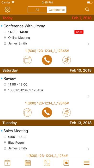 Conference Call Auto Dialer Screenshots