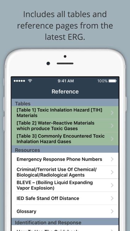 HazMat Reference and Emergency Response Guide screenshot-3