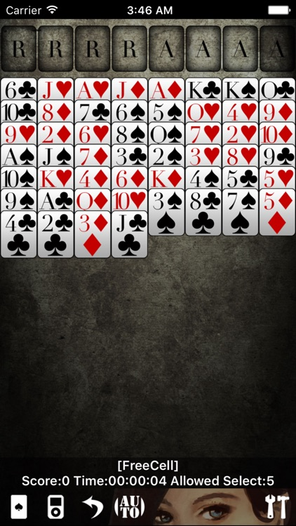 Solitaire * screenshot-2