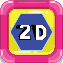 2D Shapes Flashcards: English Vocabulary Learning Free For Toddlers & Kids!