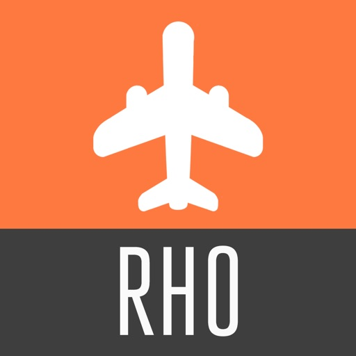 Rhodes Travel Guide and Offline City Map