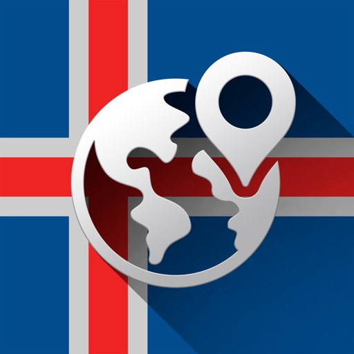 Iceland Offline Travel Map