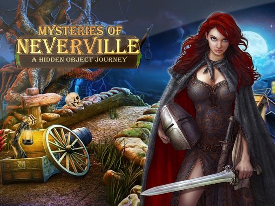 Скачать игру Тайны Невервиля: Поиск Предметов Игра Приключение