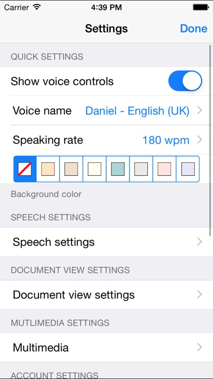 ClaroPDF Pro – Text to Speech screenshot-3