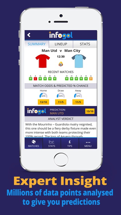 Infogol - Live Football Scores, Fixtures & Results