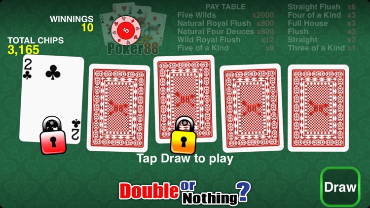 Poker 88 - Deuces Wild screenshot-4
