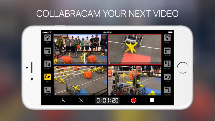 CollabraCam™: Multicam Social Video Production screenshot-0