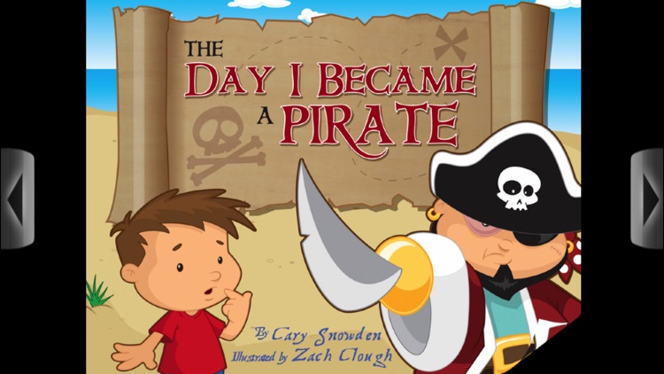 The Day I Became A Pirate - An Interactive Book App for Kids screenshot-0