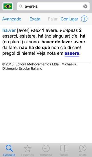 Michaelis Dicionário Escolar Italianoのおすすめ画像2