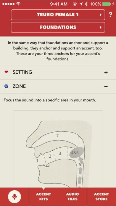The Accent Kit screenshot