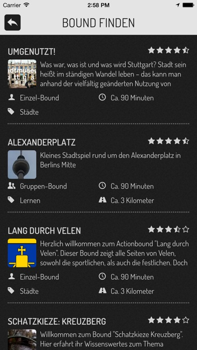 Screenshot for Actionbound in Germany App Store