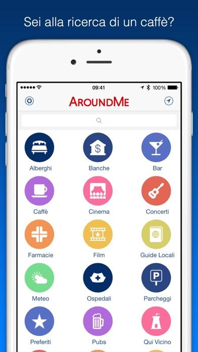 Screenshot of AroundMe2
