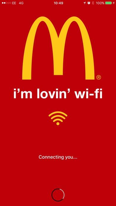 Screenshot for McDonald's Cape Town WiFi in Venezuela App Store